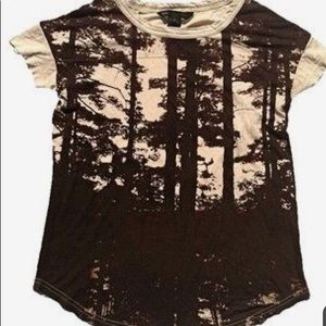 Marc By Marc Jacobs Photorealistic Tree Tee